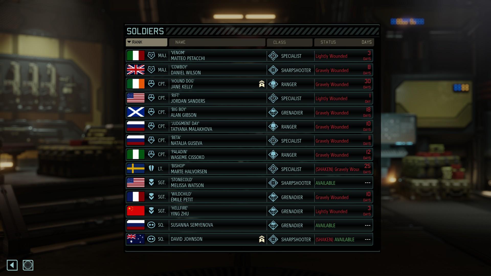 Screenshot XCOM 2