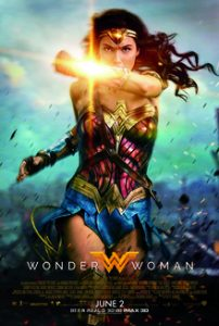 Wonder Woman movie release poster