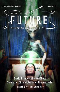 Future SF #8 cover