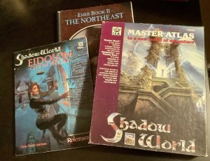 Some older Shadow World source books